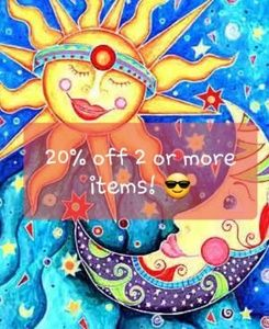 🌞20% off 2+ items🌛